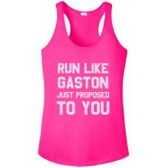 Run Like Gaston Just Proposed