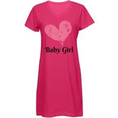 Baby Girl Sleep Shirt