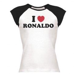 I love Ronaldo