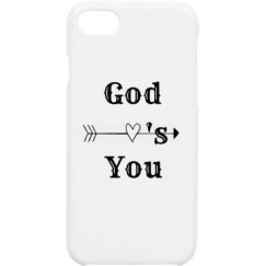 Polymer iPhone 7 Case with God Love's You