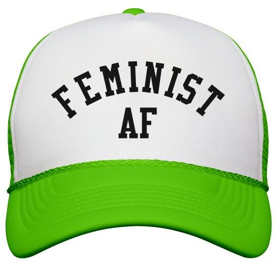 Feminist As F ck For Women s Rights Snapback Trucker Hat fca82e3ea