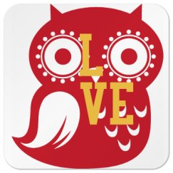 Owl Love Coaster
