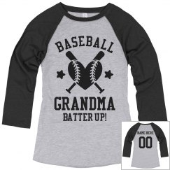 Baseball Grandma Batter Up!