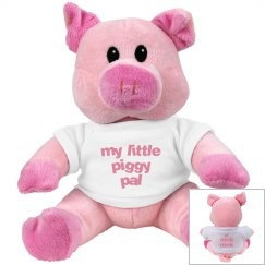 lil piggy pal stuff pig