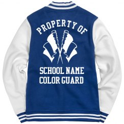 Custom School Property Of The Color Guard