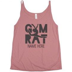 Cute Custom Gymnastics Rat