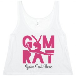Gymnastics Rat Cute Workout Design