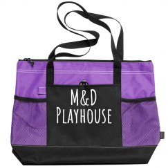 Zippered Tote M&D