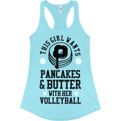 Volleyball Pancakes & Butter