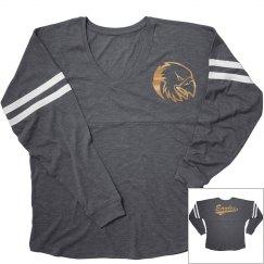 Oral Roberts golden eagles long sleeve shirt.