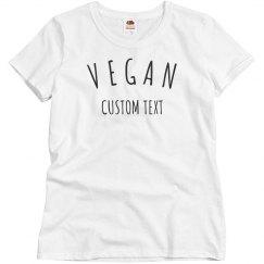 Customizable Simple Vegan Design