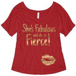 She's Fabulous and Fierce