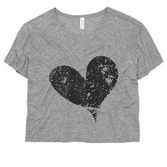 Flowy Heart Shirt