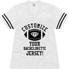Custom Bachelorette Jersey