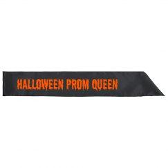 Halloween Prom Queen Sash