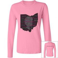 Honor the ladies! Pink