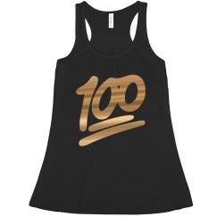 100 Gold Emoji
