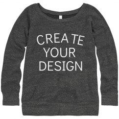 Create a Custom Slouchy Sweater