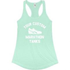 Custom Marathon Running Tanks