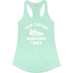 Custom Marathon Running Tanks