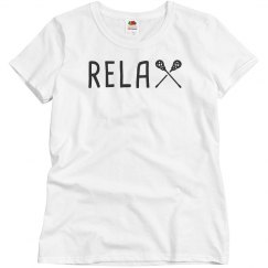 Seriously Relax it's Lacrosse Season Tee