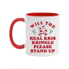 Will The Real Kris Kringle Stand Up