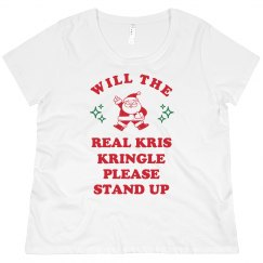 Kris Kringle Please Stand Up