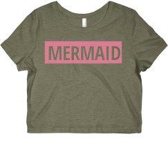 Pink Rectangle Mermaid