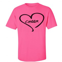 Love to cheer tee