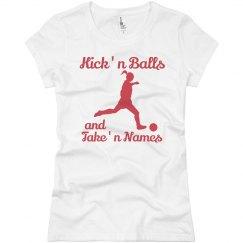 Kick'n Balls Take'n Names