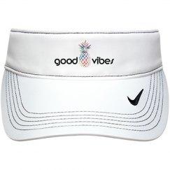 """"""" good vibes """" Pineapple Visor"""
