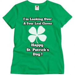 Looking Over A Clover Shirt