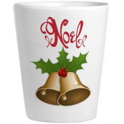 Noel Christmas Shot Glass
