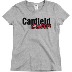 cards cheer shirt