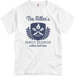 Custom Family Reunion Group Shirts