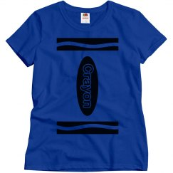 Easy Blue Crayon Group Costume
