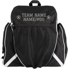 Custom Soccer Team Name Bag