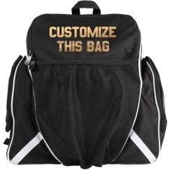Custom Ball Bag In Metallic