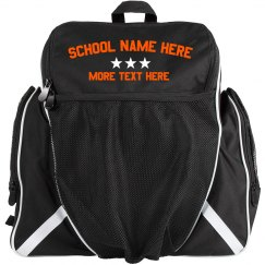 Custom School Sports Team Ball Bag