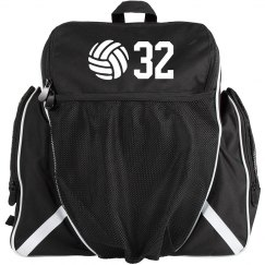 Personalized Volleyball Number Gear