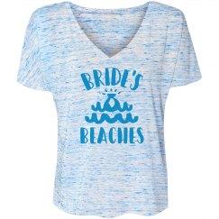 Bride's Beaches Bridesmaid's Flowy Tee
