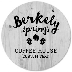 Custom Coffee Shop Coasters