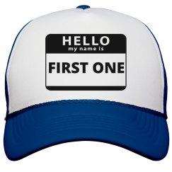 First Kid Hat