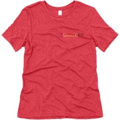 Lemonade Fit Small Chest Logo T-Shirt (Black)