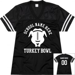 Custom Turkey Bowl Jersey