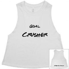 GOAL CRUSHER- White & Black