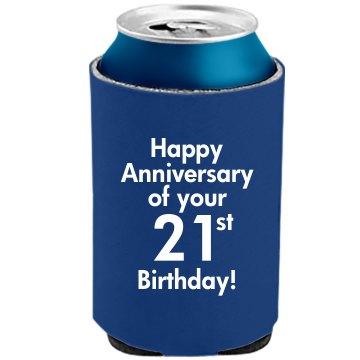 21st Birthday Anniversary