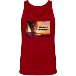 Gemini Hobbies Unisex Red Tank Top