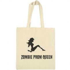 Zombie Prom Queen Halloween Tote
