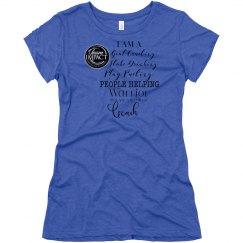 Warrior Coach Triblend Soft T-shirt